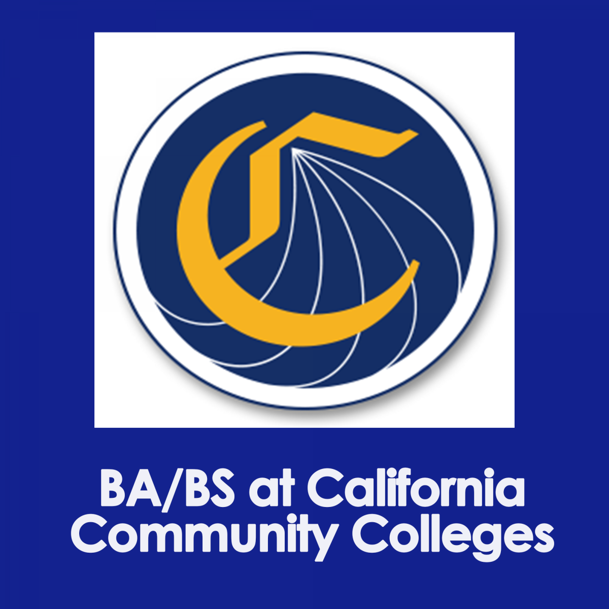 BA/BS at California Community Colleges